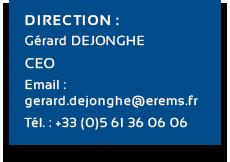 coordonnées CEO Erems