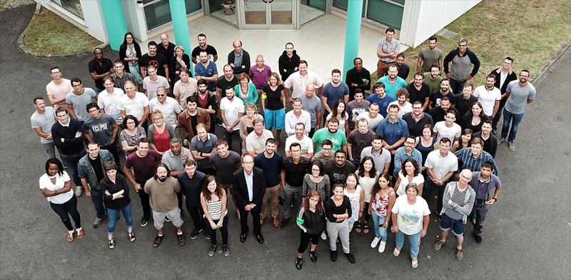 photo de l'équipe d'EREMS