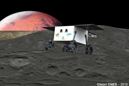 MMX Rover(source : CNES)